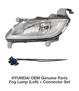 Oem Genuine Parts Fog Lamp Light Lh Connector For Hyundai 2011 2017 Veloster