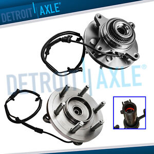 4wd 2011 2013 2014 Ford F 150 Expedition Navigator 2 Front Wheel Bearings