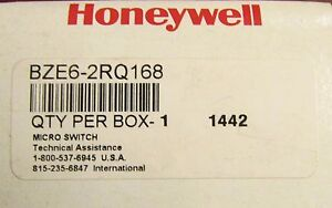 Honeywell Microswitch Snap Action Limit Switch 15 Amp Bze6 2rq168