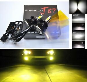 Led Kit G5 80w 9003 Hb2 H4 3000k Yellow Fog Light Replacement High Beam Lamp Fit