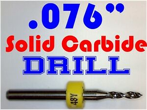 076 1 95mm 48 One Carbide Drill Bit Models Hobby Pcb Cnc Dremel R s