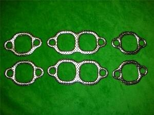 283 302 327 350 Chevrolet Sb Small Block Engine Metal Exhaust Manifold Gaskets