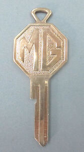 Vintage Mg Yellow Gold Plated Fa Key Mg Fa Keyway