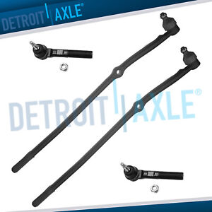 4pc Front Suspension Tie Rod Kit For 03 08 Dodge Ram 2500 3500 4x4 8 Lugs