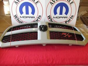 Dodge Ram 1500 R T Sport Grill Assembly Unpainted With Emblem New Oem Mopar