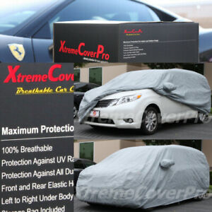 1998 1999 2000 2001 2002 2003 Toyota Sienna Breathable Car Cover W mirrorpocket