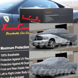2013 Dodge Ram 1500 Quad Cab 6 4ft Box Breathable Car Cover