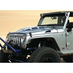 Promaxx Jeep07hood For 07 15 Wrangler Jk Cowl Heat Reduction Fiberglass Hood