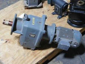 Nord 63 83 1 Gear Reducer W motor New Surplus
