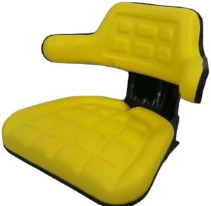 Tractor Seat Yellow Waffle Farm Tractors Universal Fit Spring Suspension iep