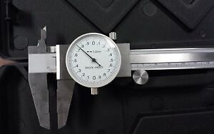 150mm Precision Stainless Steel Metric Dial Caliper 0 02mm Grad 103 755 new