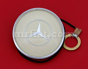 Mercedes 300 Sl Gullwing 1954 57 Ivory Complete Horn Button New