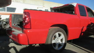 2003 Silverado Ss Short Bed Right Bed Side In Red Lq9 Ls2
