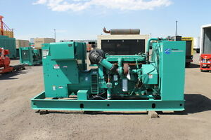 Cummins 230 Kw Diesel Generator Year 2005 480 Volt Only 1183 Hours