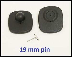 1000 Ps Rf 8 2 Mhz Hard Tag Checkpoint Compatible Anti Theft System 19mm Pin