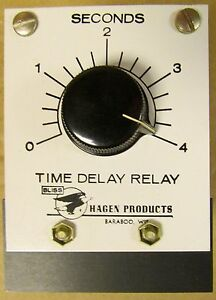 Bliss Eagle Signal Hagen Products 78 0 A 200 10 15 Amp 4 Second 120v Timer