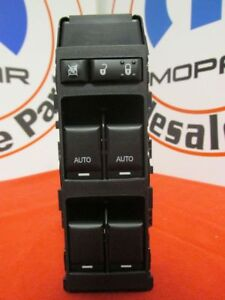 Dodge Chrysler Jeep Master Window Switch Front 1 Touch Up Down New Oem Mopar