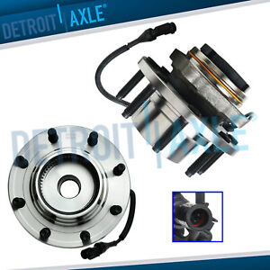 Front Wheel Hub Bearings Abs 4x4 Srw From 3 22 99 1999 2004 Ford F 250 F 350