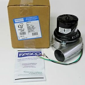 Fasco A205 Draft Inducer For Lennox Armstrong 7021 9001 7021 8372 Tg 2118p