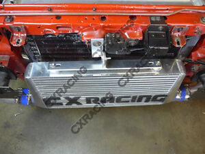 Cxracing Turbo Intercooler Bracket For 79 93 Ford Mustang 5 0 Fox Body 4 Core
