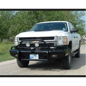 Ranch Hand Btc081blr Bullnose Front Bumper For 07 10 Chevy 2500hd 3500 Silverado