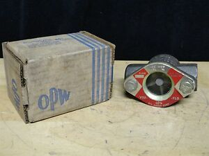 Opw Visi flo Water Flow Indicator Part Number 1481 200 Wog New
