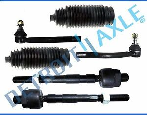 New 6pc Front Inner Outer Tie Rod Ends For 2002 2004 Honda Odyssey