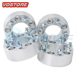 4pcs 2 5x4 5 Wheel Spacers Adapters 1 2 x20 For Jeep Wrangler Tj Yj Xj Kj Kk Zj