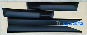 4dr Protector Bumper Matte Black Cover Trim For All New Toyota Fortuner 2015 Suv