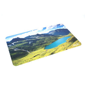 Leather Desk Pad Soft Leather Mat Waterproof Mountains And Lakes Photo 26 15