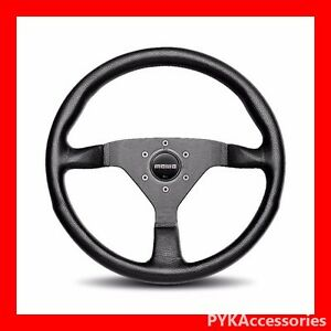 Genuine Momo Steering Wheel Monte Carlo Black Black 320mm Mcl32bk1b