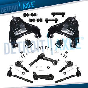 Complete Front Control Arm Suspension Kit Chevy S10 Blazer Gmc Jimmy Sonoma