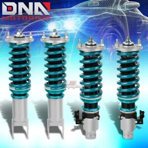 Dna For Civic Eg Integra Dc Front Rear Shock Strut Damper Blue Coilover Spring