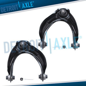 Pair Front Upper Control Arms Ball Joint For Acura Tsx Honda Accord