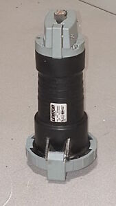Leviton 460c5w Pin Sleeve Connector 60 Amp 600 Volt 3 phase 3pole 4wire