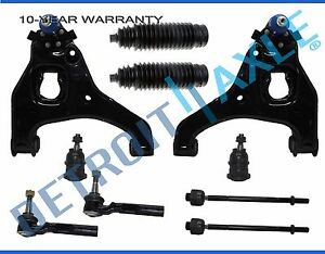 99 07 Silverado Sierra 1500 Front Lower Control Arm Ball Joint Tierod Kit 2wd