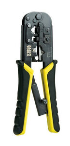 Klein Crimper wire Stripper Network Phone Cable Modular Connector Crimping Tool