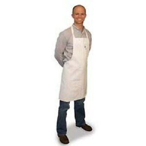 50 White Restaurant Kitchen Bib Apron Aprons P c Blend