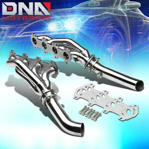 Stainless Steel Header For 04 10 Ford F150 5 4l V8 Exhaust manifold mid Pipe