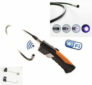 3m Wifi Inspection Camera Borescope Wireless Endoscope For Iphone Ios Android