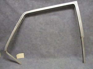 1963 Amc Rambler 770 Wagon Rh Rear Door Upper Aluminum Top Channel Oem 26254