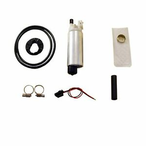 New High Performance Replacement Electric Intank Fuel Pump W Installation Kit
