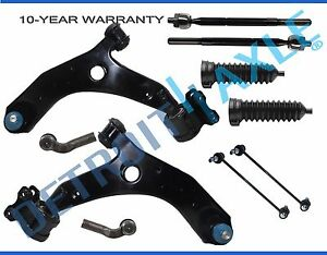 10pc Front Lower Control Arm Set Suspension Kit 07 09 Mazda 3 Mazdaspeed 2 3l