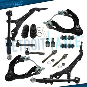 1993 1997 Honda Civic Del Sol No Si Upper Lower Control Arm Tierod Sway Bar Kit