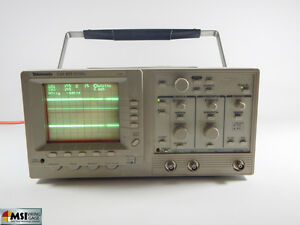 Tektronix Tas 455 60mhz Two Channel Oscilloscope