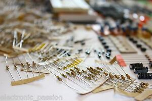 Rrp 200 Wholesale Lot Of Electronic Components Approx 2000 Pcs Of Value Stock