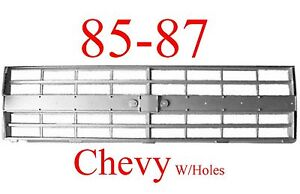 85 86 87 88 Chevy Truck Grill Fits Both 2 Hl 4 Hl Trucks Blazers Jimmys
