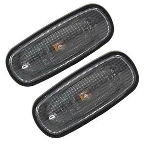 Land Rover Discovery 2 Fender Clear Side Marker Repeater Light Set Xgb100310