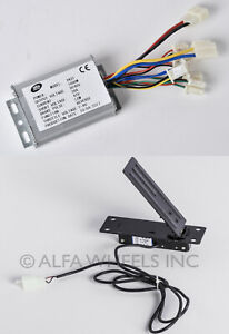 1000 W 48v Dc Speed Controller W Reverse Foot Pedal Throttle F Electric Motor