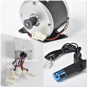 250 W 24 V Dc Scooter Electric Motor 1016 Kit With Speed Controller